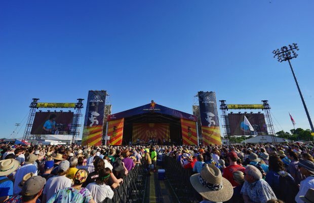 On the Ground: New Orleans Jazz Fest