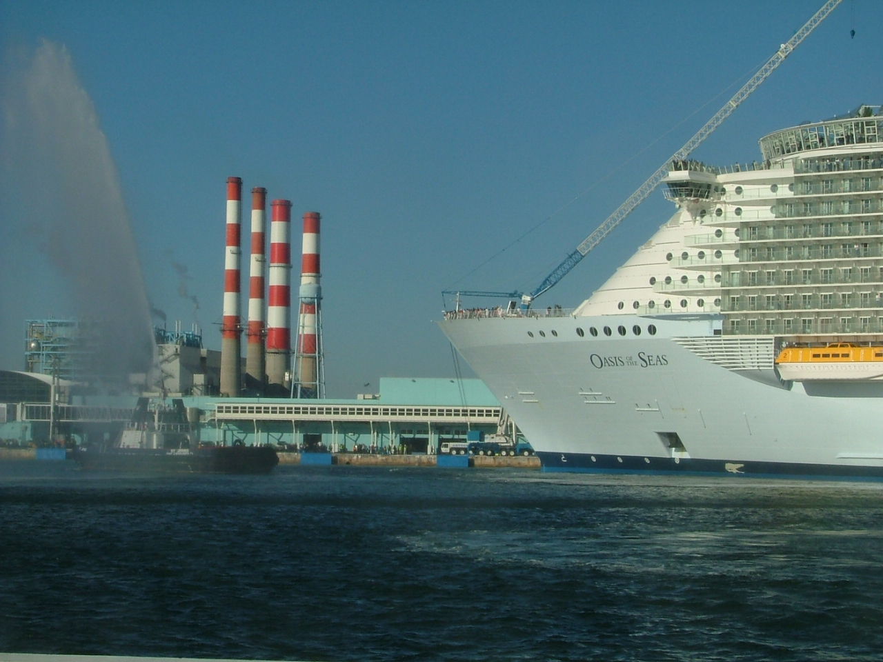Largest Cruise Ship Arrives in Port Everglades