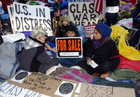 Occupy Wall Street Protests a Deterrent for NYC Tourists, Poll Finds