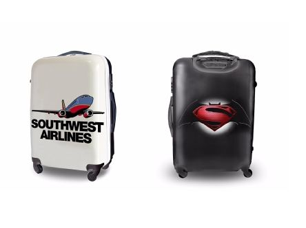 Save on Baggage Fees by Slapping an Ad on Your Suitcase