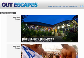 Out Escapes Debuts Flash Sales and Events for the Gays