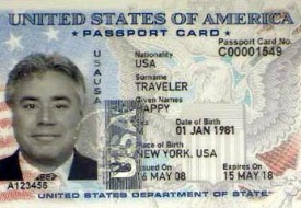 U.S. Department of State Announces Online Application for Passport Cards