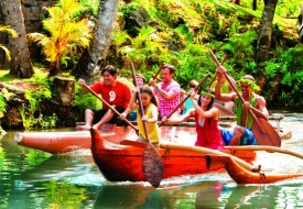 Go Native with Oahu's Polynesian Cultural Center