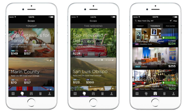 HotelTonight Launches Escape & GeoRates Features for Nearby Trips