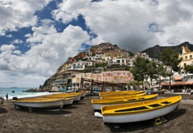Positano by Vespa and Water Taxi