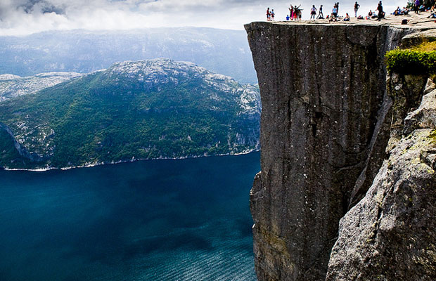 Inspired Travel: Pulpit Rock in Norway