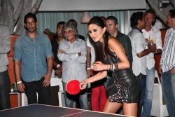 Hollywood Hotel Makes Ping Pong Hip
