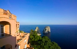 New Suites at Capri's Fabled Hotel Punta Tragara