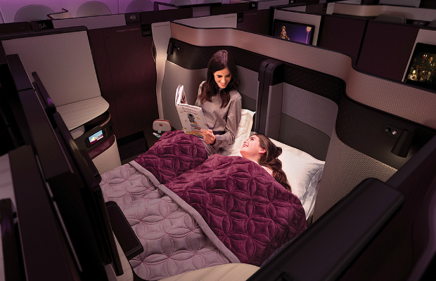 New Qatar Airways Business Class Is All About Groups (And Luxury)