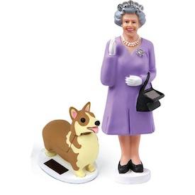 SkyMall Tuesday: Diamond Jubilee Queen & Corgi