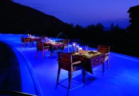 Aquatic Dining at Ritz-Carlton, Dove Mountain near Tucson