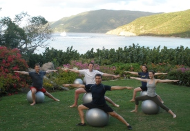 Get Your Fitness Fix at Rosewood Little Dix Bay in the B.V.I.