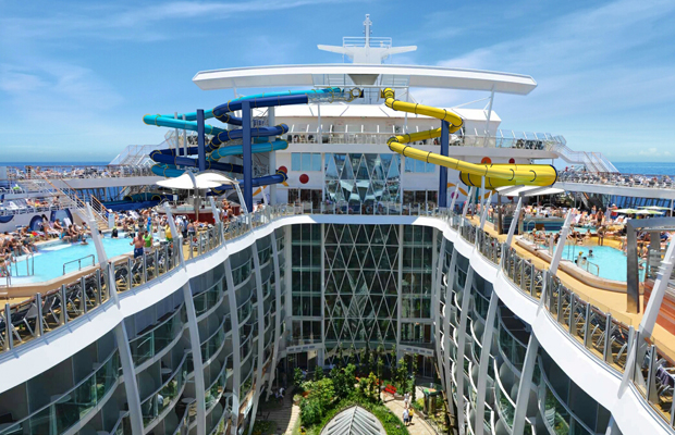 Cruise Tracker: A 10-Story Waterslide, 622 More Solo Cabins, and More