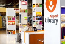 New Library at Amsterdam Airport is World's First