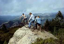 Airport Exhibit Celebrates History of Mountain Biking