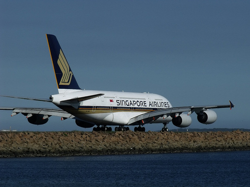 Singapore Airlines Lightens Up for the Environment