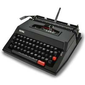 SkyMall Tuesday: Classic Manual Typewriter