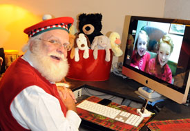 Get in the Holiday Spirit By Skyping with Santa