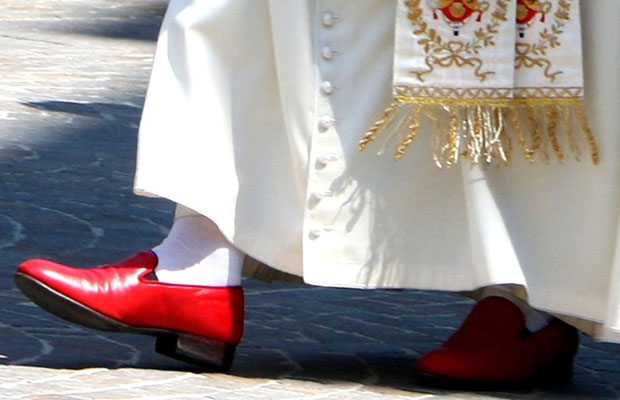New Pope Announced: Places to Wear Red Slippers!