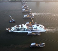 New Seabourn Sojourn Sets Sail