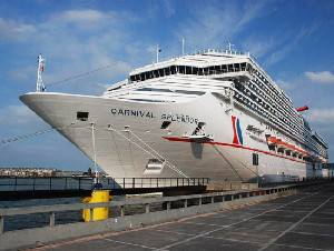 Carnival Provides Splendor to Long Beach Terminal