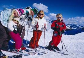 Family-Friendly Skiing in North Lake Tahoe