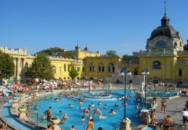 Budapest Bathhouses Offer Budget-Friendly R & R