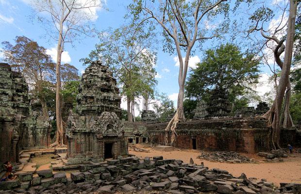 Inspired Travel: Ta Prohm Temple, Cambodia
