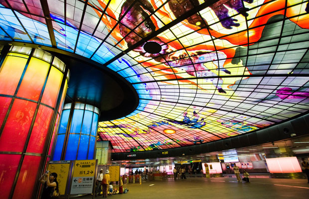 9 Cities With Incredible Subway Art