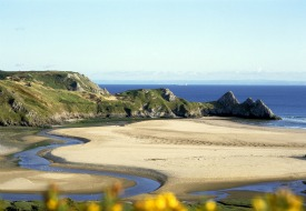 Walking the New Wales Coast Path in Dylan Thomas Country