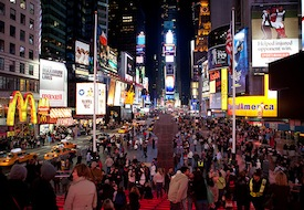 Visitors' Dilemma: Times Square, New York City