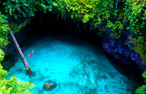 Inspired Travel: To Sua Ocean Trench