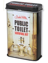 SkyMall Tuesday: Public Toilet Survival Kit
