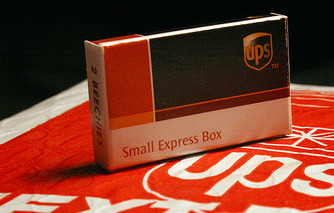 """UPS Rolls Out """"Luggage Box"""" to Compete with Airlines"""