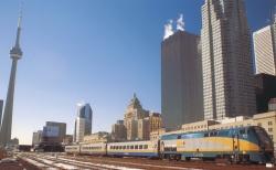 Ride the VIA Rail Pride Train to Toronto Pride