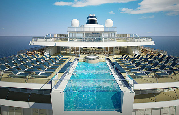 Cruise Tracker: Viking Star's Infinity Pool, A Royal Christening, and More