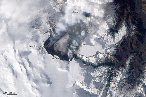 Iceland Eruption Triggers Widespread Flight Cancellations