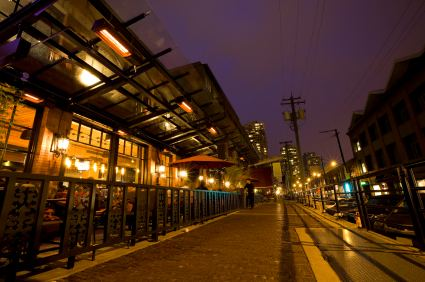 Dining and Shopping in Yaletown