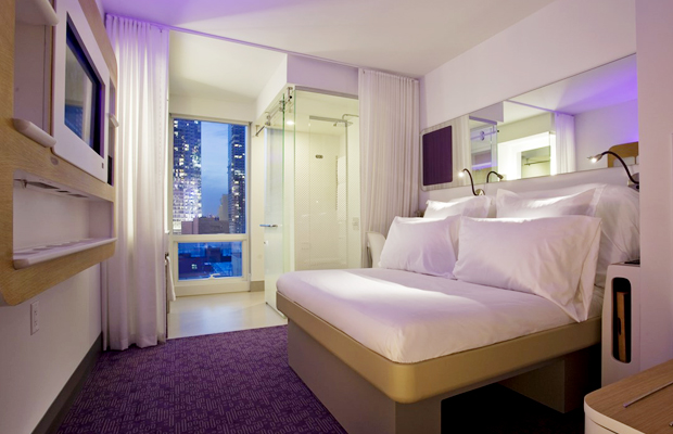 Yotel New York: A Look at How Hotels Are Getting (Tech) Smart