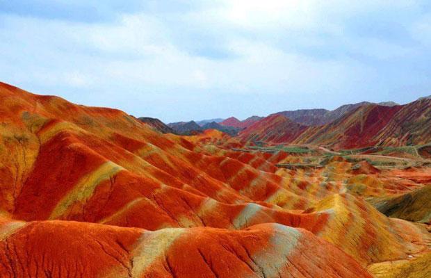 Inspired Travel: Zhangye's Mountains